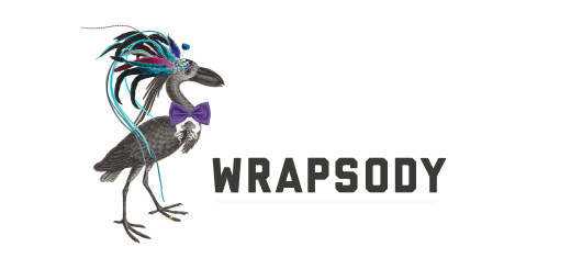 Wrapsody logo with character copy