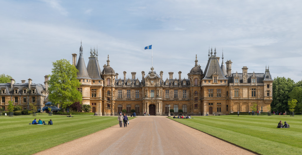 Waddesdon manor and colourscape