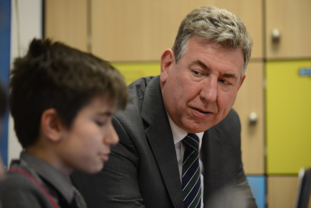 Interview With :   Chris Godwin, Headmaster of The Hall School