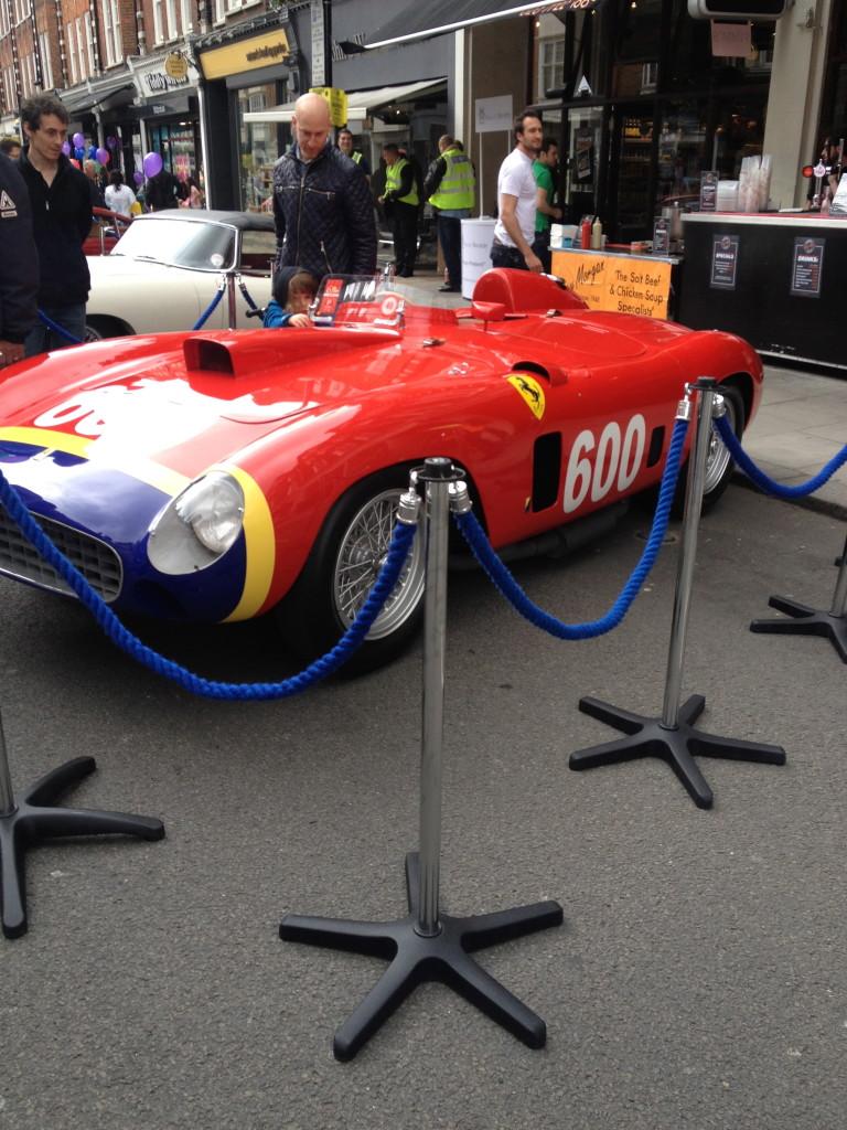 Classic car parade