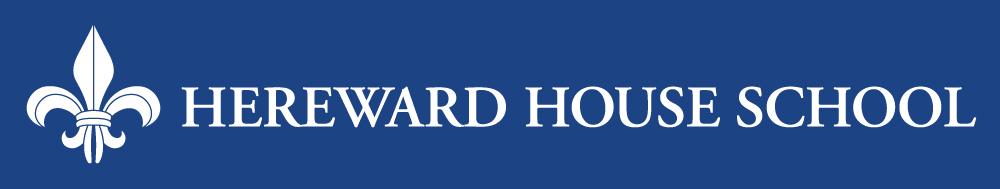 Hereward House large logo reversed