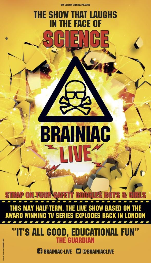 Brainiac Live Udderbelly Poster